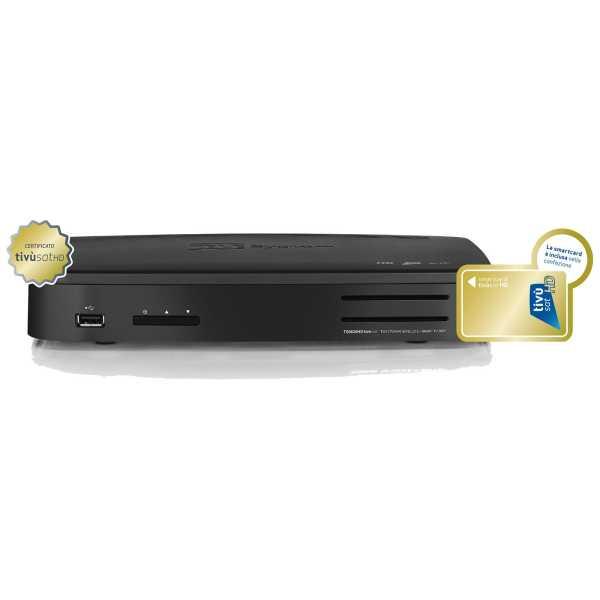 TS 9020 HD Twin Sat-Receiver USB PVR WiFi inkl. Tivusat HD Karte